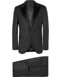 dunkelgrauer Anzug von Brunello Cucinelli