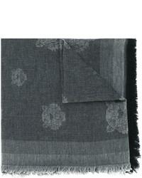 dunkelgrauer Baumwollschal von Kenzo