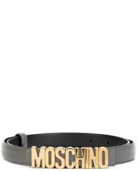 dunkelgrauer Gürtel von Moschino