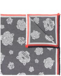 dunkelgrauer leichter Schal von Kenzo