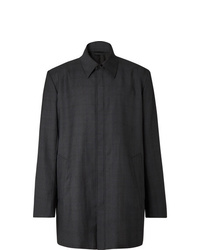 dunkelgrauer Mantel von Balenciaga