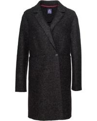 dunkelgrauer Mantel von Brigitte von Schönfels