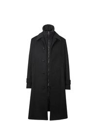 dunkelgrauer Mantel von Burberry
