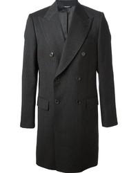 dunkelgrauer Mantel von Dolce & Gabbana