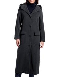 dunkelgrauer Mantel von Eddie Bauer