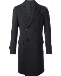 dunkelgrauer Mantel von Emporio Armani