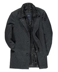 dunkelgrauer Mantel von ENGBERS