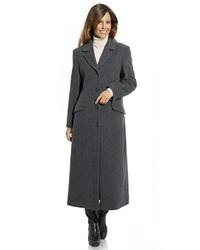 dunkelgrauer Mantel von Heine