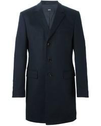 dunkelgrauer Mantel von Hugo Boss