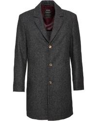 dunkelgrauer Mantel von Lodenfrey