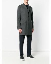 dunkelgrauer Mantel von Tonello