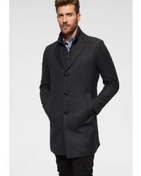 dunkelgrauer Mantel von Strellson