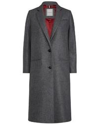 dunkelgrauer Mantel von Tommy Hilfiger