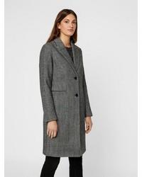 dunkelgrauer Mantel von Vero Moda