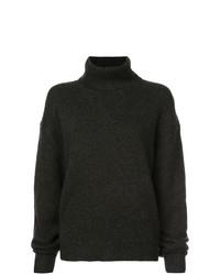 dunkelgrauer Oversize Pullover von Beau Souci