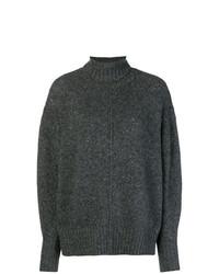 dunkelgrauer Oversize Pullover von Isabel Marant