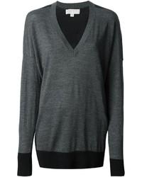 dunkelgrauer Oversize Pullover von MICHAEL Michael Kors