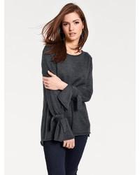 dunkelgrauer Oversize Pullover von RICK CARDONA by Heine