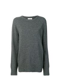 dunkelgrauer Oversize Pullover von The Row