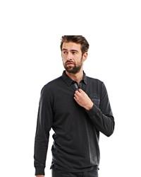 dunkelgrauer Polo Pullover von ENGBERS