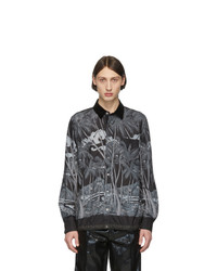 dunkelgrauer Polo Pullover von Sacai