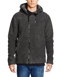 dunkelgrauer Pullover mit einem Kapuze von Bench