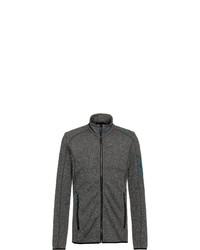 dunkelgrauer Pullover mit einem Reißverschluß von CMP