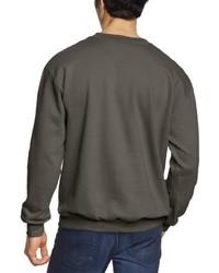 dunkelgrauer Pullover mit einem Rundhalsausschnitt von Anvil