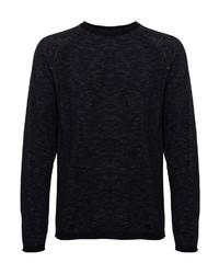 dunkelgrauer Pullover mit einem Rundhalsausschnitt von CASUAL FRIDAY