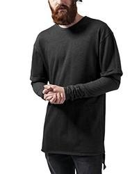 dunkelgrauer Pullover mit einem Rundhalsausschnitt von Urban Classics