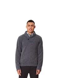 dunkelgrauer Pullover mit einem Schalkragen von Regatta