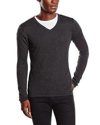 dunkelgrauer Pullover von Blaumax