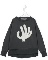 dunkelgrauer Pullover von Bobo Choses