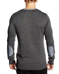 dunkelgrauer Pullover von CASUAL FRIDAY