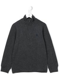 dunkelgrauer Pullover von Ralph Lauren