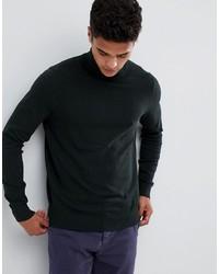 dunkelgrauer Rollkragenpullover von Burton Menswear