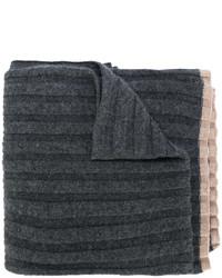 dunkelgrauer Schal von Brunello Cucinelli
