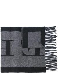 dunkelgrauer Schal von Burberry