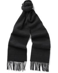 dunkelgrauer Schal von Canali