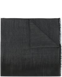 dunkelgrauer Schal von Salvatore Ferragamo