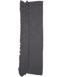 dunkelgrauer Schal von Stella McCartney