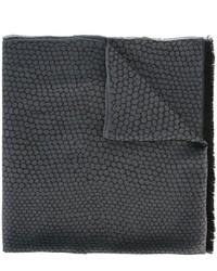 dunkelgrauer Seideschal von Lanvin