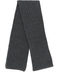dunkelgrauer Strick Schal von Neil Barrett