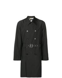 dunkelgrauer Trenchcoat von Versace Collection