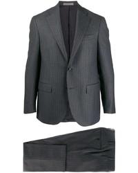 dunkelgrauer vertikal gestreifter Anzug von Corneliani