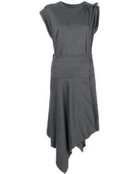 dunkelgraues gerade geschnittenes Kleid von Isabel Marant