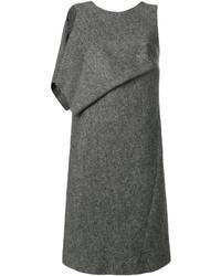 dunkelgraues gerade geschnittenes Kleid von Maison Margiela