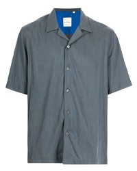 dunkelgraues Kurzarmhemd von Paul Smith