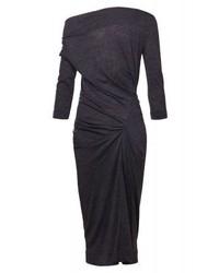 dunkelgraues Midikleid von Vivienne Westwood