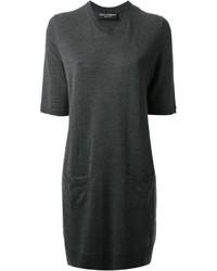 dunkelgraues Sweatkleid von Dolce & Gabbana